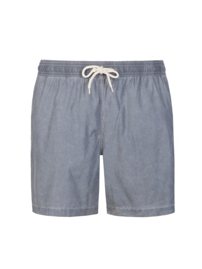Badehose im Washed-Look in GRAU