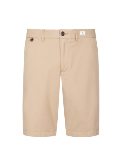Brooklyn Light Twill Bermuda, uni in BEIGE