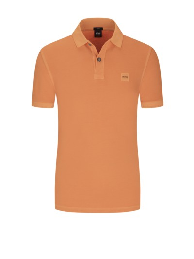 Prime Pili Polo, Slim Fit in ORANGE