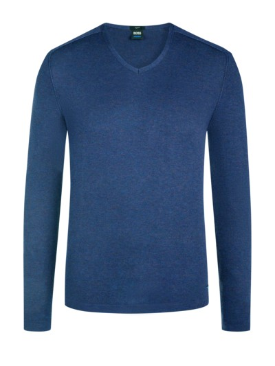 Pullover, V-Neck in ROYAL