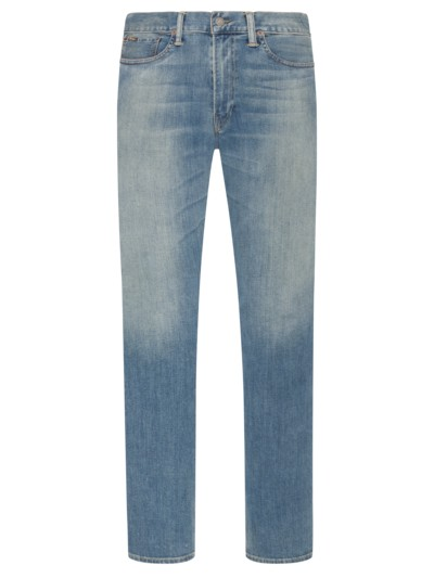 Topmodische Used-Look Jeans in STONE