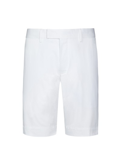 Bermuda, Slim Fit in WEISS