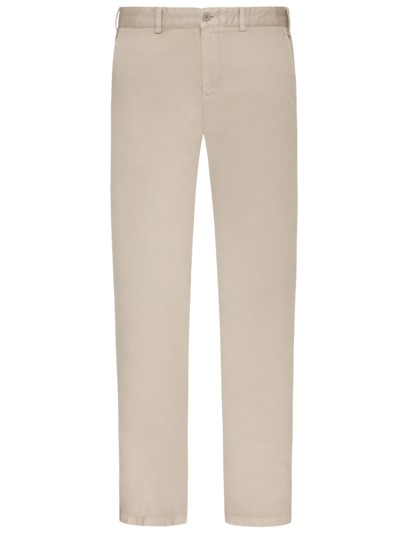 Chino mit Stretchanteil in BEIGE