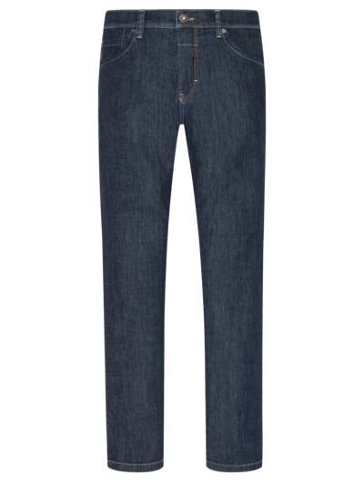 Straight Fit Jeans, Ultralight-Denim, Cadiz in MARINE