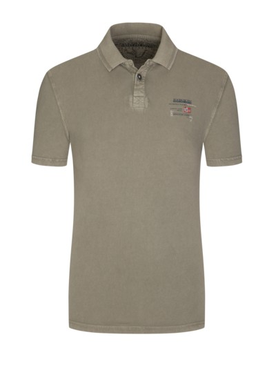 Softes Poloshirt in OLIV