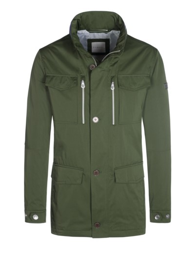 Nylon-Fieldjacket in OLIV