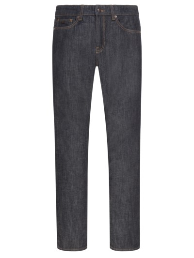 5-Pocket Jeans mit Stretchanteil, Delaware, Slim Fit in MARINE