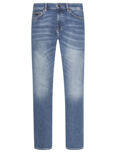 5-Pocket Jeans mit Stretchanteil, Delaware, Slim Fit in BLAU
