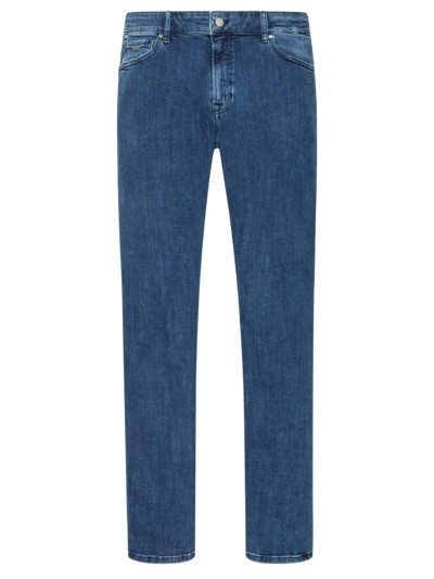Denimjeans, 5-Pocket-Form in BLAU
