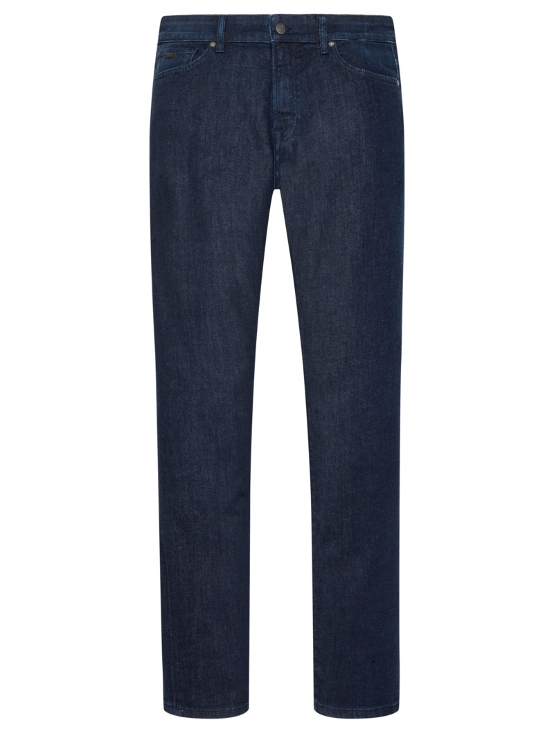 Modische 5-Pocket-Jeans in MARINE