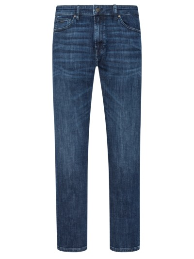 5-Pocket-Jeans, Regular Fit in MARINE