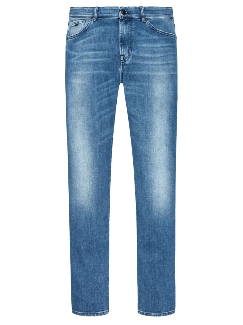 Jeans, Maine, Regular Fit in BLAU