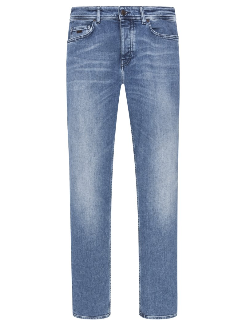 Modische Jeans, Tapered Fit, Taber in BLAU