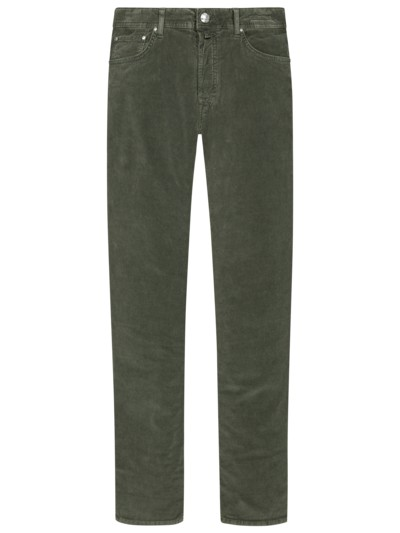 Cordhose, 5-Pocket, PW688 in OLIV