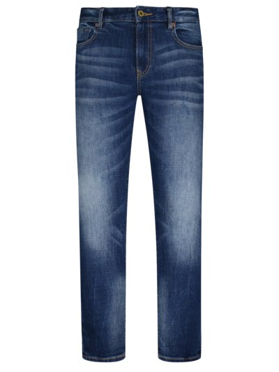 Jeans, Skim Super Slim Fit in MARINE