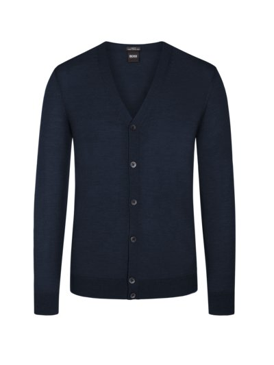 Cardigan, Slim Fit in ROT