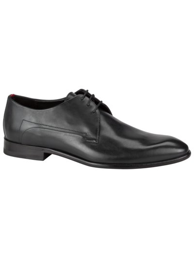 Businessschuh in Glattleder, Derby in SCHWARZ