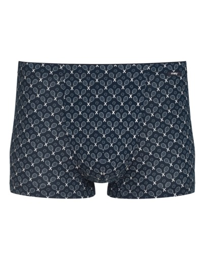 Boxer-Trunk in modischem Print in MARINE