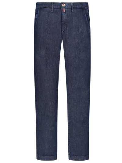 Chino im Denim-Look in MARINE
