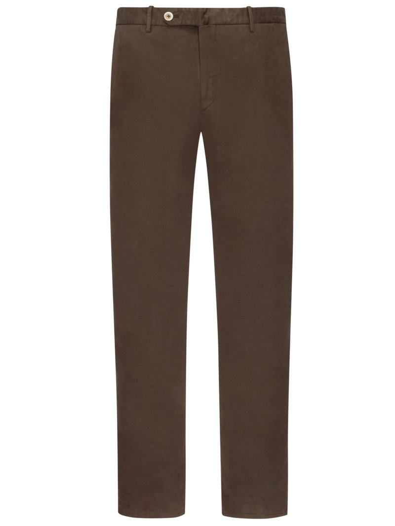 Modische Baumwoll-Chino, Slim Fit in SAND