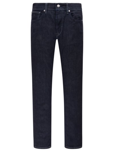 Jeans, 5-Pocket, Slim Fit in MARINE