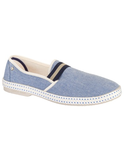 Modische Loafer in BLAU
