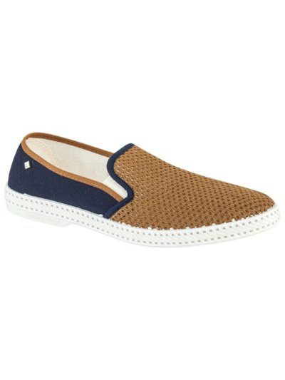 Sommerliche Loafer in BRAUN