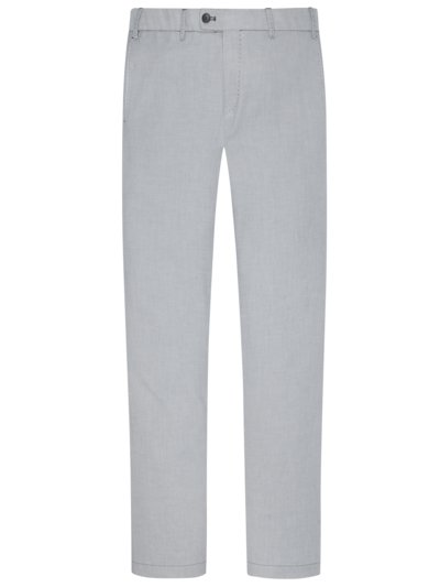 Chino mit Stretchanteil, Tarent, Slim Fit in GRAU