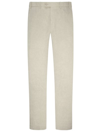 Leinenhose, Contemporary Fit in BEIGE