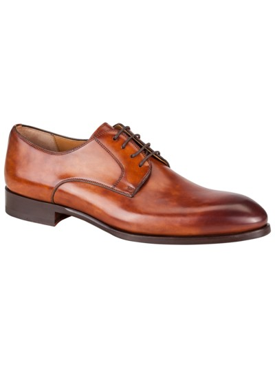 Eleganter Businessschuh in COGNAC