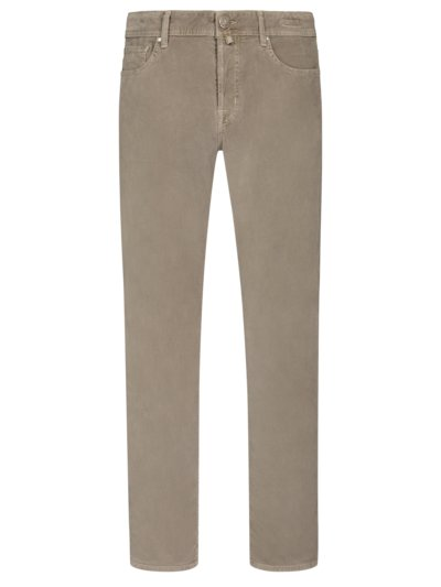 5-Pocket Feincordhose, J688 in TAUPE