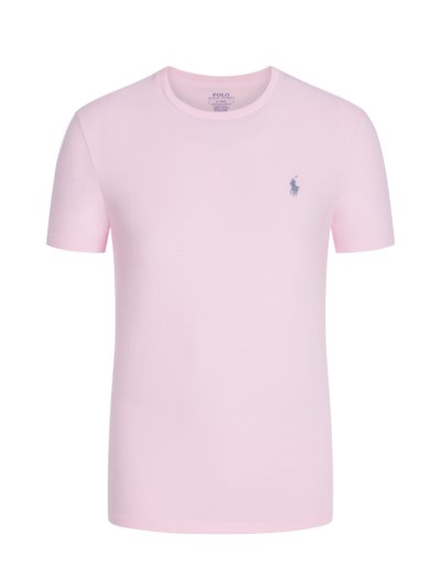 T-Shirt, O-Neck, Custom Slim Fit in ROSA