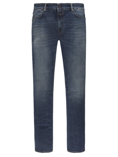 Jeans in modischer Waschung, mit Stretchanteil, Slim Fit in BLAU