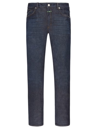 Blue-Jeans im Baumwollmix, Slim Fit in MARINE