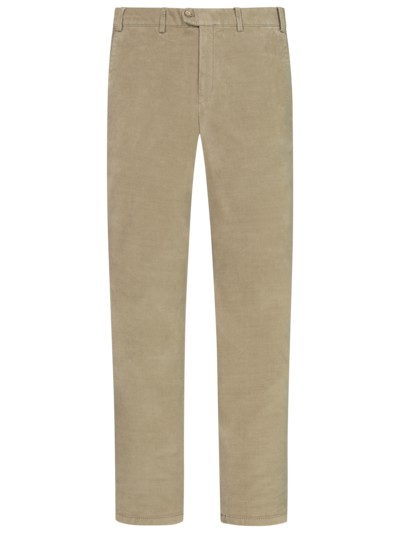 Modische Chino aus Phantom-Cord, Slim Fit in BEIGE