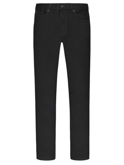 5-Pocket Hose mit Stretchanteil, Seth, Regular Fit in SCHWARZ