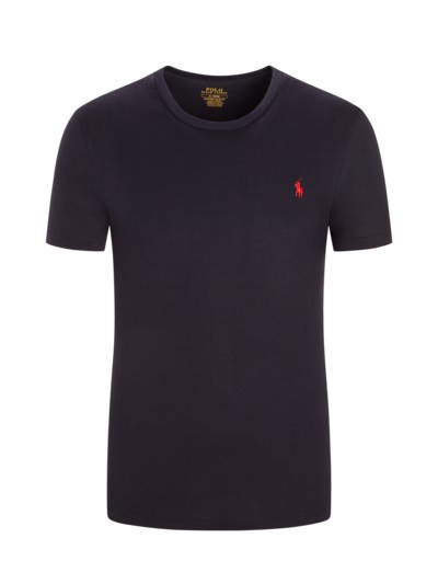 T-Shirt, O-Neck, Custom Slim Fit in MARINE