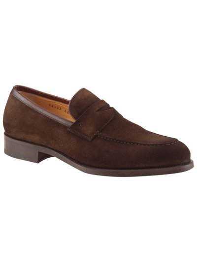 Loafer in Veloursleder in BRAUN