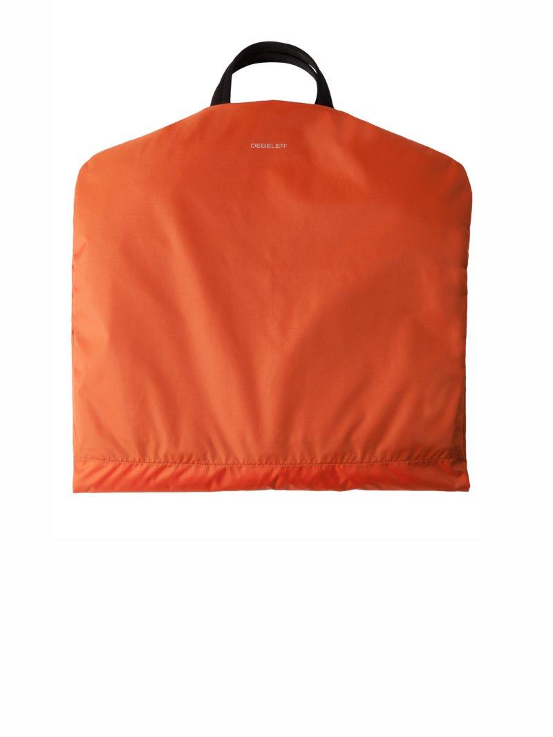Degeler, Anzugtasche, mit zusätzlichem Titan - Bügel in Orange für Herren