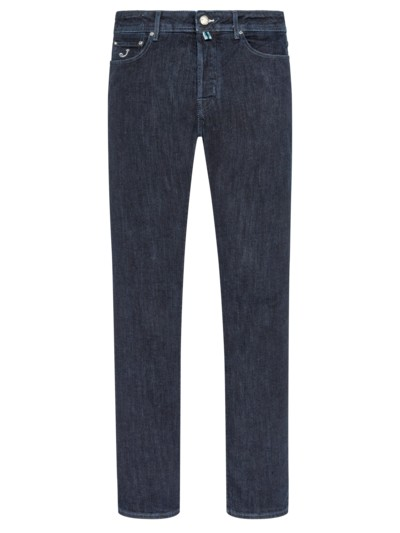 Dark-Blue Jeans, mit Stretchanteil, J688 in MARINE