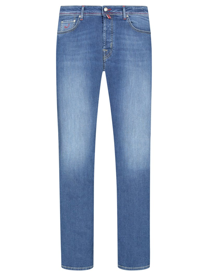 5-Pocket Jeans mit Stretchanteil, J688 in BLAU