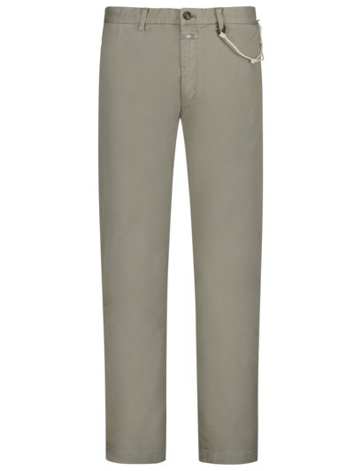 Chinohose, Clifton, Slim Fit in OLIV
