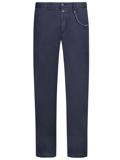 Chinohose, Clifton, Slim Fit in MARINE