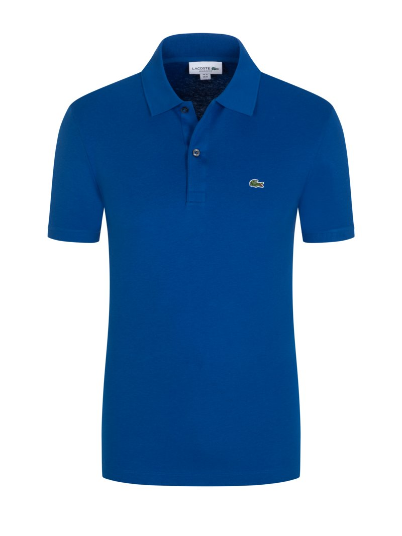 Poloshirt in Jersey-Qualität, Regular Fit in ROYAL
