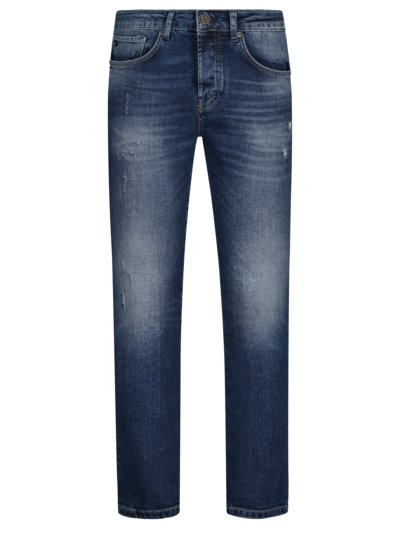Jeans mit Stretchanteil, U2, Slim Fit in BLAU