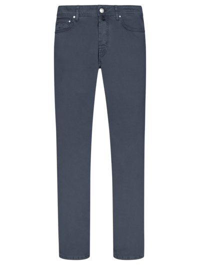 5-Pocket-Hose, J688, Slim Fit in MARINE