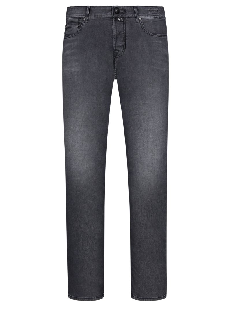 Button-Fly Jeans mit Stretchanteil, J688 in ANTHRAZIT