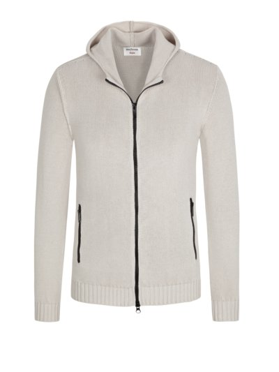 Hochwertige Strickjacke in OFF-WHITE