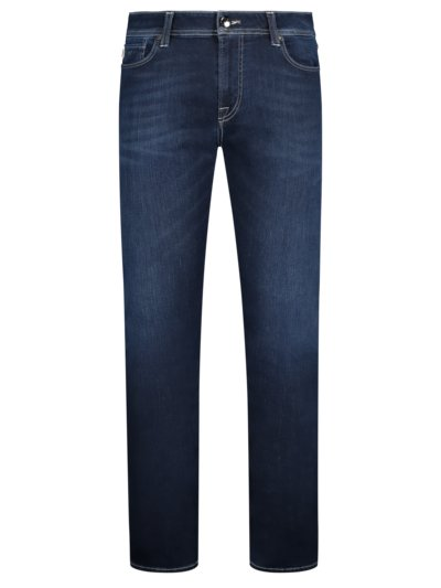 Hochwertige Jeans Slim Fit, Leonardo in NAVY