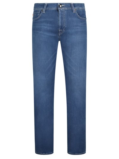 Hochwertige Jeans Slim Fit, Leonardo in DENIM